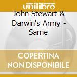 JOHN STEART & DARWIN'S ARMY cd musicale di STEART JOHN
