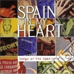 Spain in my heart cd musicale di Lila downs/pete seeg