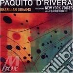 BRAZILIAN DREAMS cd musicale di Paquito D'rivera