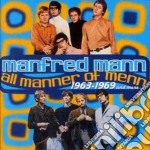 All manner of menn 63/69 and more... cd musicale di Mann Manfred