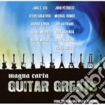 MAGNA CARTA GUITAR GREATS                 cd musicale di Artisti Vari