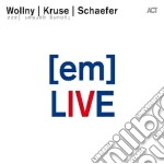 [EM] LIVE AT JAZZBALTICA                  cd musicale di Wollny kruse schae