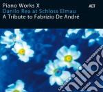 A TRIBUTE TO FABRIZIO DE ANDRE' cd musicale di Danilo Rea