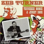 Tennessee boogie & jersey - cd musicale di Turner Zeb