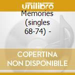 Memories (singles 68-74) - cd musicale di Holt Joh