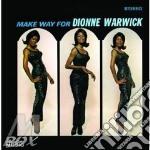 MAKE WAY FOR... cd musicale di DIONNE WARWICK