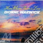 HERE WHERE THERE IS LOVE cd musicale di DIONNE WARWICK