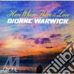Dionne Warwick - Here Where There Is Love cd musicale di DIONNE WARWICK