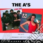THE A'S/A WOMAN GOT POWER                 cd musicale di THE A'S