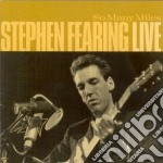 So many miles-live- cd musicale di Stephen Fearing