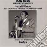 Midnight at minton's - byas don monk thelonius cd musicale di Don byas feat.thelonius monk
