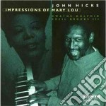 John Hicks Trio - Impressions Of Mary Lou cd musicale di John hicks trio