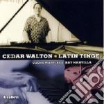 Latin tinge cd musicale di Cedar Walton