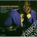 Houston Person - Social Call cd musicale di Houston Person