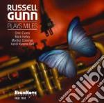 PLAYS MILES cd musicale di RUSSELL GUNN