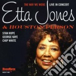 The way we were cd musicale di Etta jones & houston
