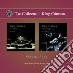 King Crimson - Collectable Vol. 4 - Live At Roma / Warsaw Poland 2000 cd musicale di KING CRIMSON