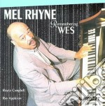 Remembering wes cd musicale di Rhyne Mel