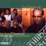 Live at sweet basil vol.2 cd musicale di Cecil brooks iii qui