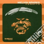 Melvin Sparks - It Is What It Is cd musicale di Sparks Melvin
