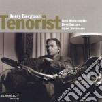 TENORIST cd musicale di JERRY BERGONZI