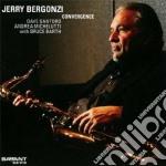 Convergence cd musicale di JERRY BERGONZI