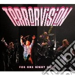 Terrorvision - For One Night Only cd musicale di Terrorvision