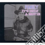 Family - It's Only A Movie cd musicale di Family