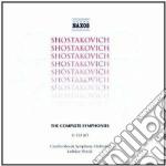 Sinfonie (integrale) cd musicale di Dmitri Sciostakovic