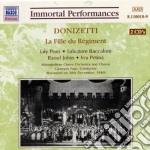 La fille du regiment cd musicale di Gaetano Donizetti