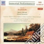 Merry mount cd musicale di Howard Hanson
