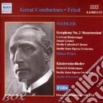 Symphony no.2-2cd cd musicale di Gustav Mahler