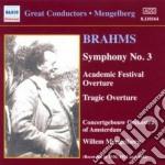 Sinfonia n.3, sinfonia n.1 (terzo movime cd musicale di Johannes Brahms