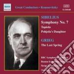 Sibelius Jean - Sinfonia N.7, Tapiola, La Figlia Di Pohiola, The Maidens With The Roses cd musicale di Jean Sibelius