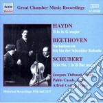 Schubert Franz - Trio N.1 Per Pianoforte E Archi cd musicale di Franz Schubert