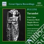 Turandot cd musicale di Giacomo Puccini