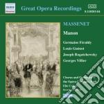 Manon cd musicale di Jules Massenet