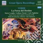La forza del destino cd musicale di Giuseppe Verdi
