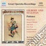 Patience cd musicale di Gilbert & sullivan