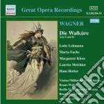 La valchiria (atto i e ii) cd musicale di Richard Wagner