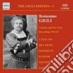 Gigli edition vol.3: cadmen e new york, cd musicale di Beniamino Gigli