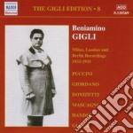 Gigli edition vol.8: milano, londra e be cd musicale di Beniamino Gigli