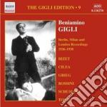Gigli edition vol.9: berlino, milano e l cd musicale di Beniamino Gigli