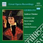 Andrea ch????nier cd musicale di Umberto Giordano