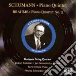 Quintetto con pianoforte op.44 cd musicale di Robert Schumann