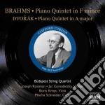 Quintetto per pianoforte e archi op.34 cd musicale di Johannes Brahms