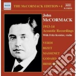 Edition vol.4: the acoustic recordings ( cd musicale di John Mccormack
