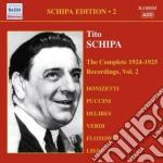 Schipa Tito - Schipa Edition, Vol.2: 1924-1925 cd musicale di Tito Schipa
