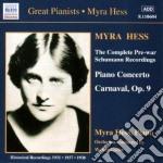 Carnaval op.9, concerto x pf, walszenen cd musicale di Robert Schumann