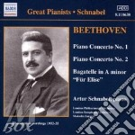 Beethoven-piano conc.1&2 cd musicale di SCHUNABEL